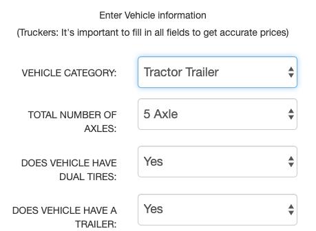 Truck Toll Calculator - Tollsmart