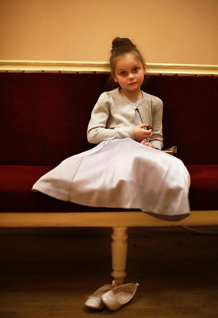 Девочка на концерте