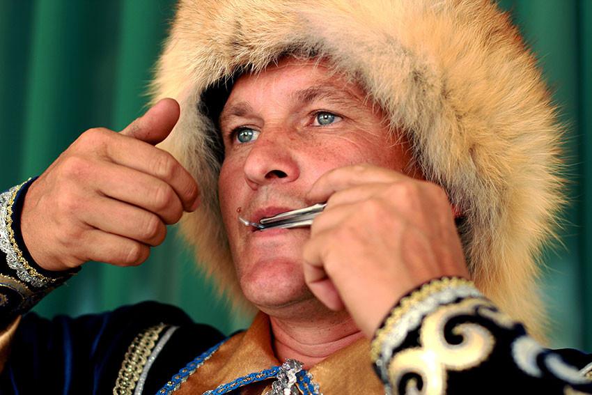 Башкирский музыкант