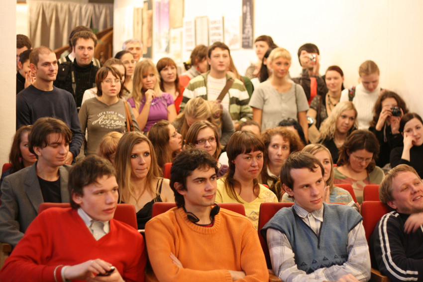 Публика шокирована увиденным