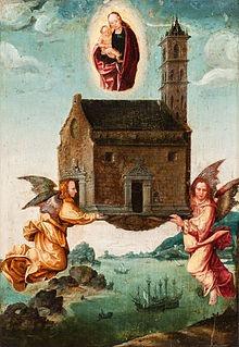 das heilige Haus von Maria in Nazareth