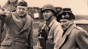 General Eisenhower und General Montgomery