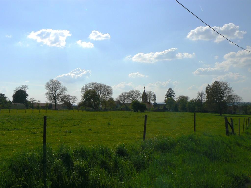 vue prise sur la route de Martigny