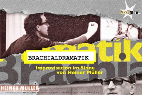 Brachialdramatik,  Improtheater, Improneta, Berlin, Pankow, Varia Vineta, Berlin lebt Impro, Improneta19, Improtheaterfestival