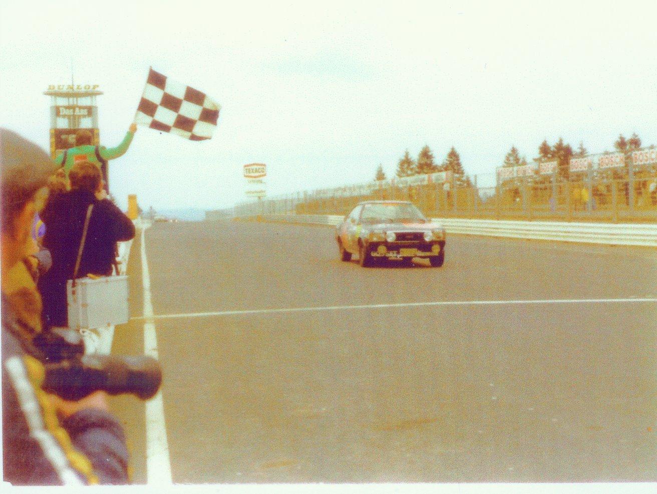 1975 18 Std Nürburgring 3 Clas. gén/ 1 Groupe  Forotti - Feitler - Koob