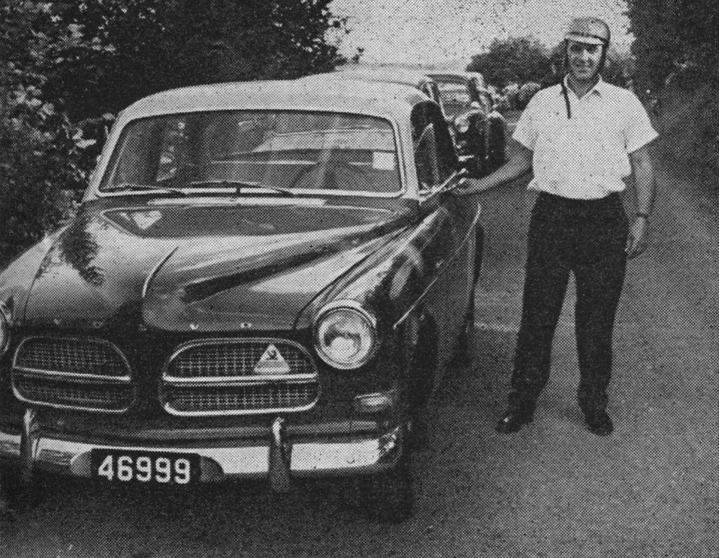 1958 Henry Schroeder C/C Kautenbach  Volvo Amazone