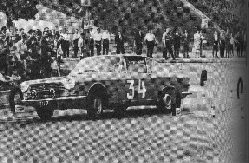 1964 Wagner Honoré Slalom Belvaux Fiat 2300S
