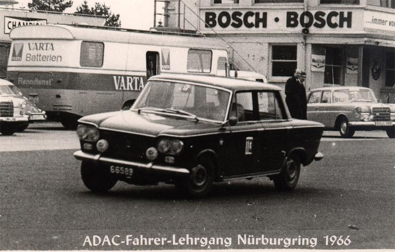 1966 Fahrerlehrgang Nürburgring