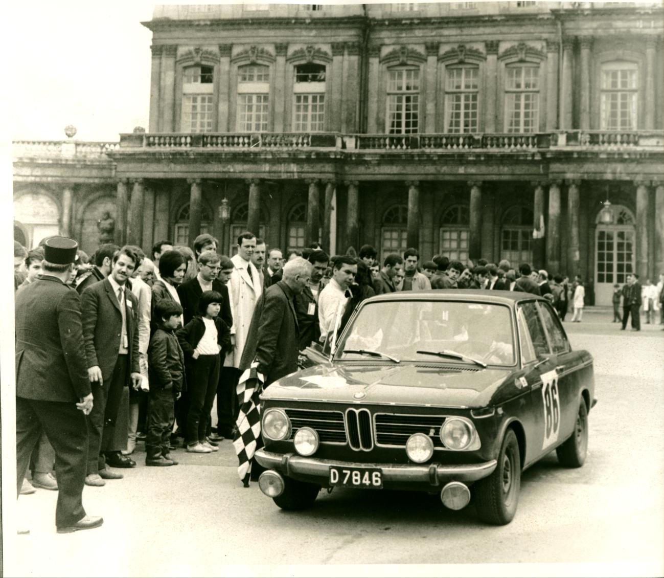 1968 Départ Rallye de Lorraine Liège  Jans-Engel