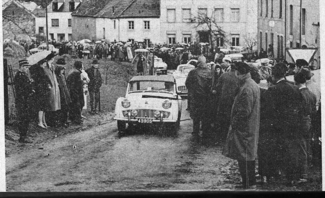 C/C Born  Neckel Koob auf Triumph TR 3