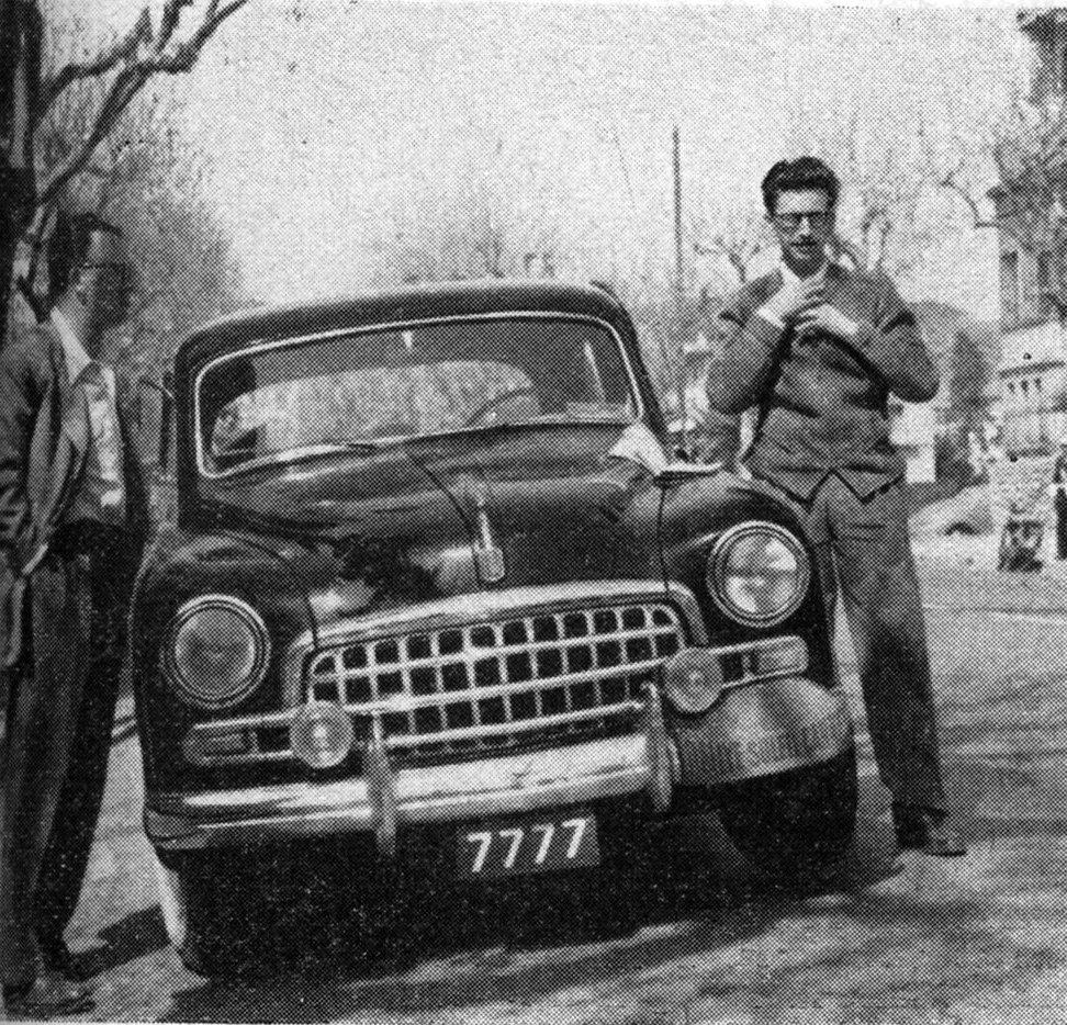 1953 Rallye du Soleil  Wagner-Welter  Fiat 1900