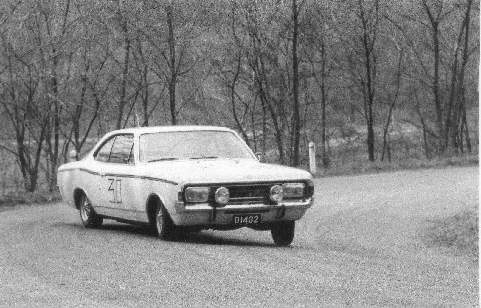 1968 Opel Rekord Sprint 1900