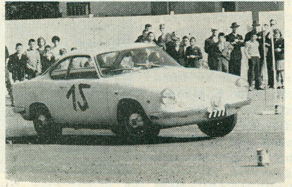 1961 Wagner Honoré auf Fiat Abarth Scorpione