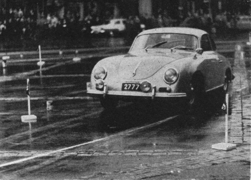 1960 Théo Mey auf Porsche