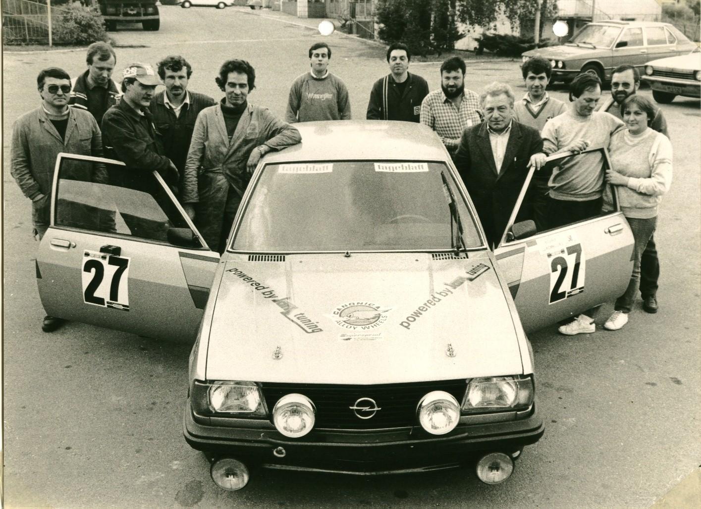 """1985 24 Std Nürburgring """" Labalestra-Franck-Fettes"""""""