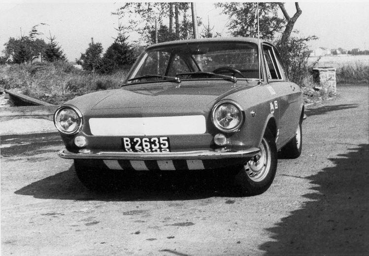 Dem Henri sain Fiat 850 Coupé