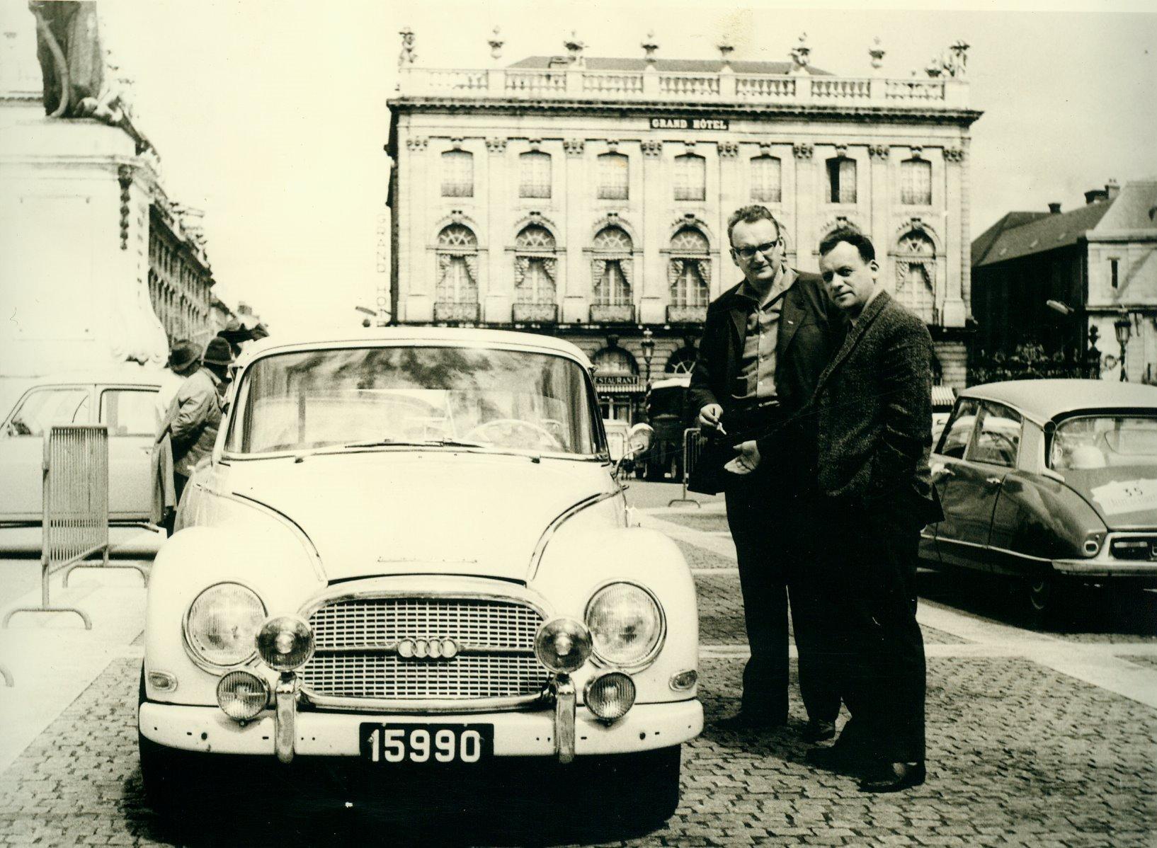 1962 Rallye de Printemps Bintner-Wies