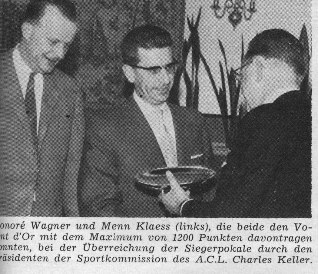 1962  Volant Sportif  Klaes Menn und Wagner Honoré