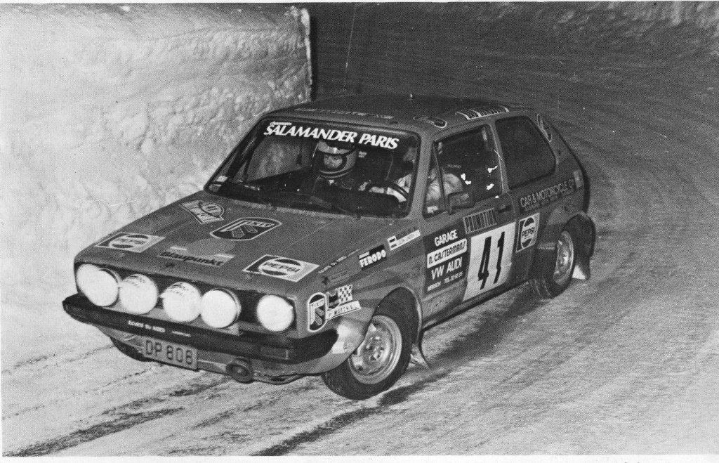 1981 Ende der Rennsportkarriere