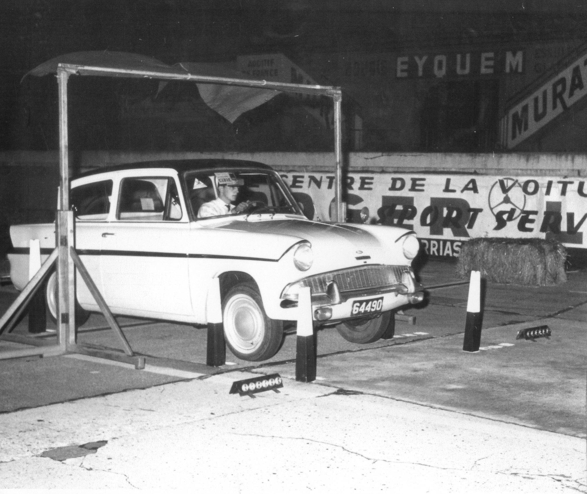 1963 Mein erstes Rennen und mein erster Sieg !  Ford Anglia