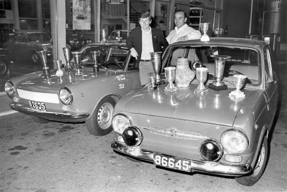 den Henri mam Ries Emile Expo Garage Chany Wagner