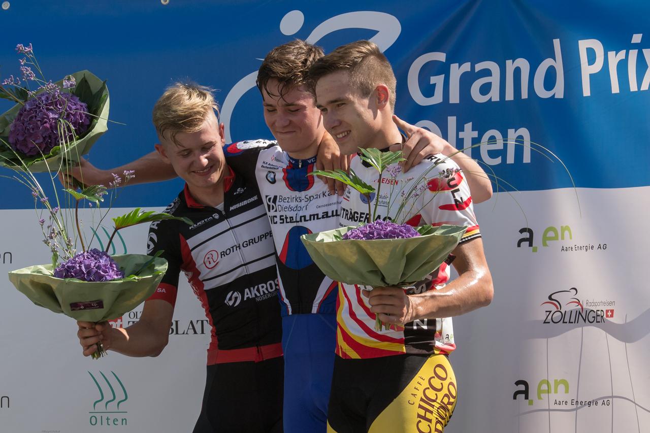 Podium Herren U19