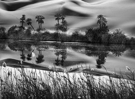 L'Erg Ubari, Immensité de dunes de sable, Libye 2009, crédit photo : Sebastião Salgado