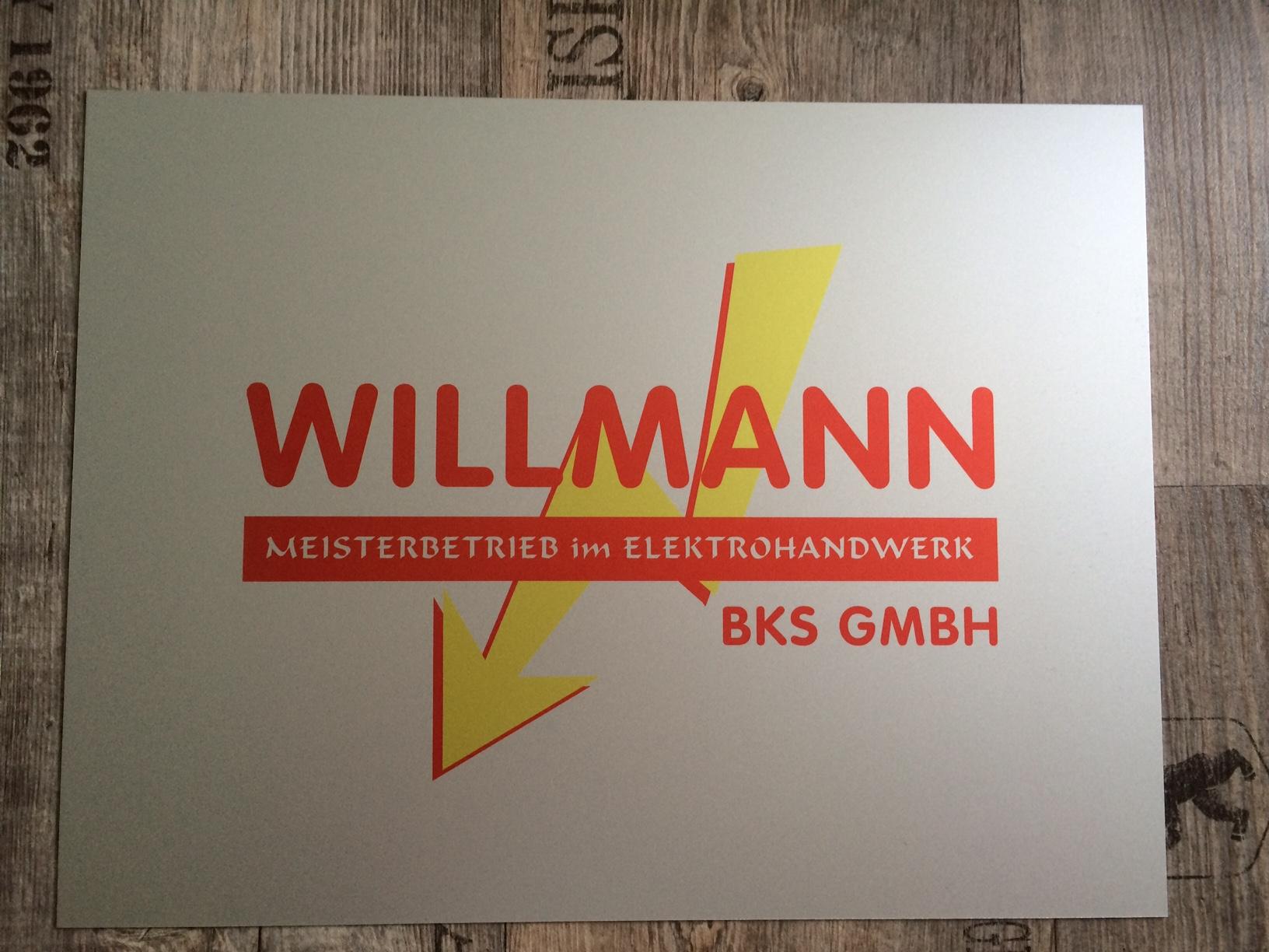Aluminiumschild mit Sublimationsdruck