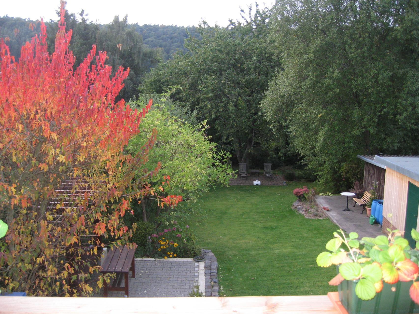 Herbstzeit in unserem Garten