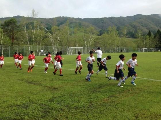 ISSFCサッカークラブ練習風景 岐阜市 各務原市 関市