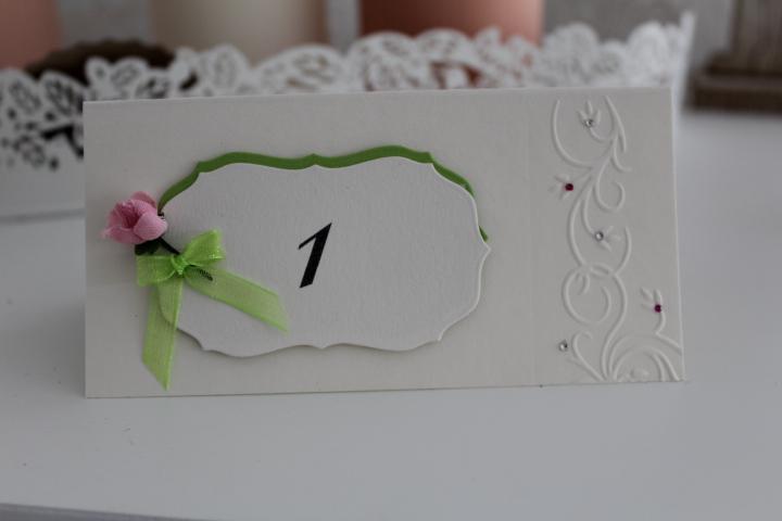 TK 50 Tischkarte groß 1015 cm. kann auch mit Namen beschriftet werden