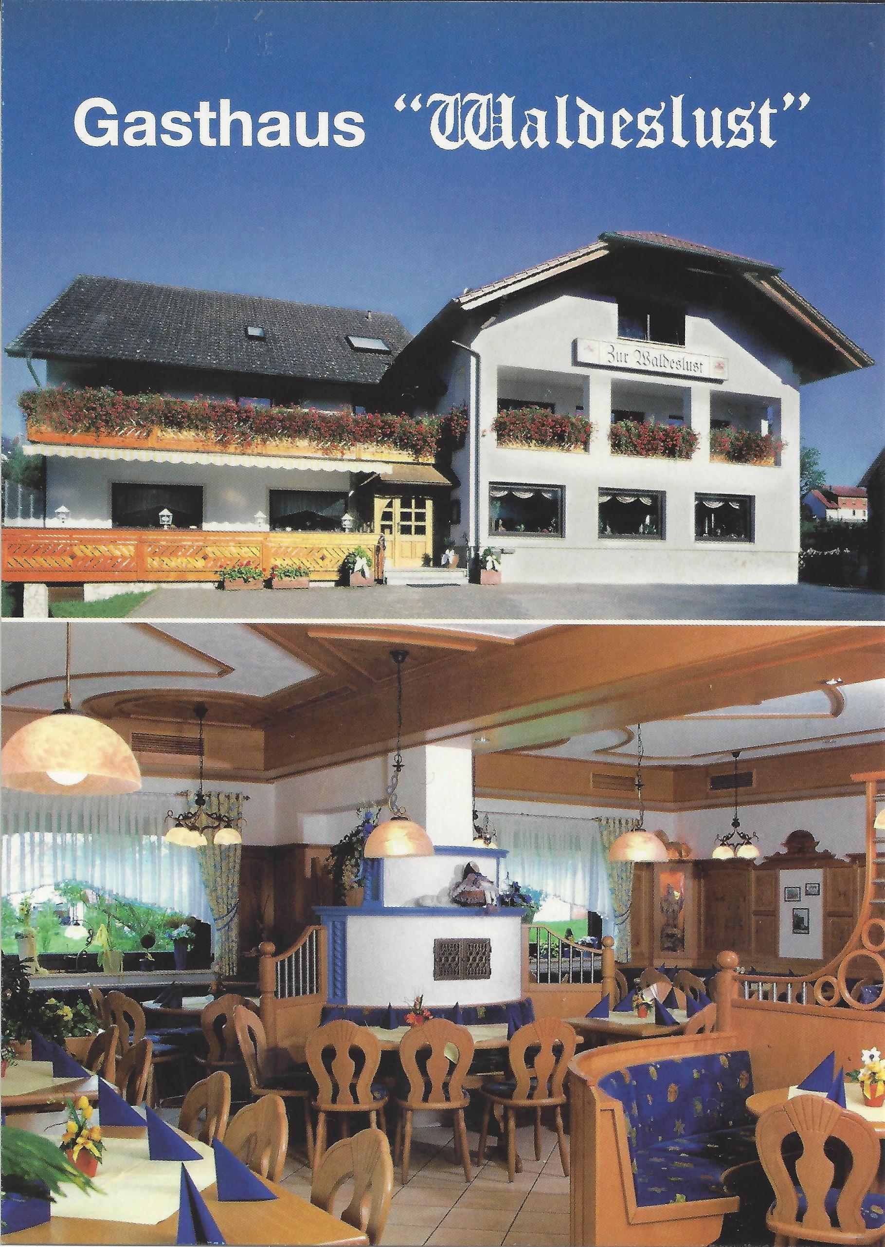 Gasthaus-Waldeslust Kröckelbach Fürth - Gasthaus Waldeslust