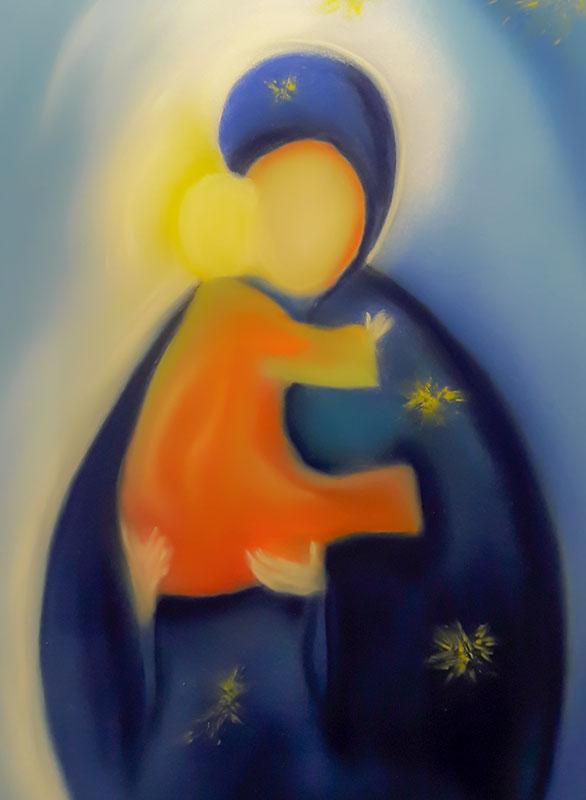 Engelstaub *Mutter Maria* von renate maria blatter