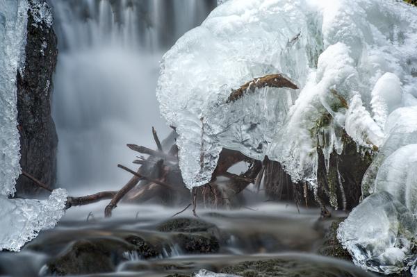 Wasserfall am Parkplatz Silbermühle