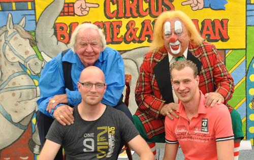 Ronald en Stefan op de fanclubdag in 2013.