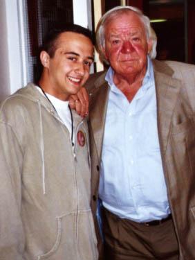 Maxim Liebaert met Adriaan.