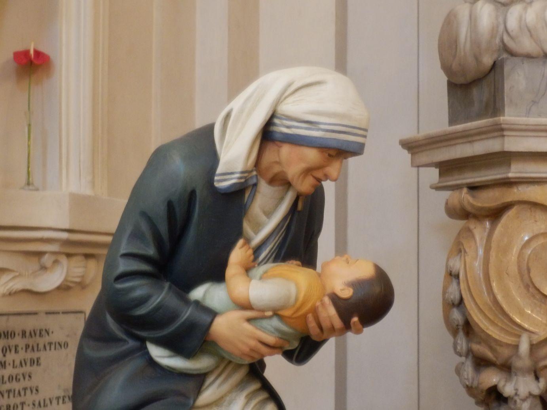 met Maria en kind