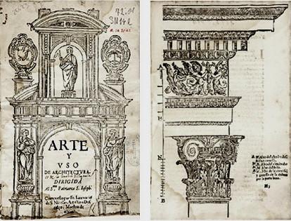 Tratado de fray Lorenzo de San Nicolás Arte y uso de arquitectura, Madrid, 1639.