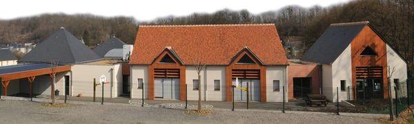 """L'école """"Eric ORSENNA"""" de Villaines, une première démarche de qualité environnementale du bâti mené par la commune de 2005 à 2008"""