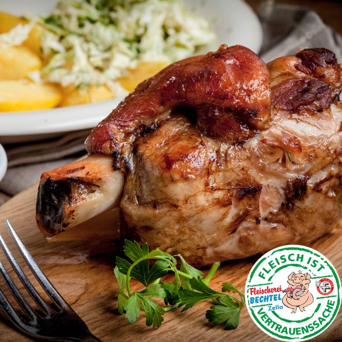 Schweinshaxe - Fleischerei Bechtel - Rezepte