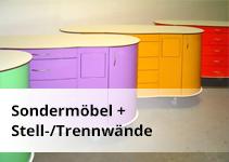 Sondermöbel + Stell-/Trennwände