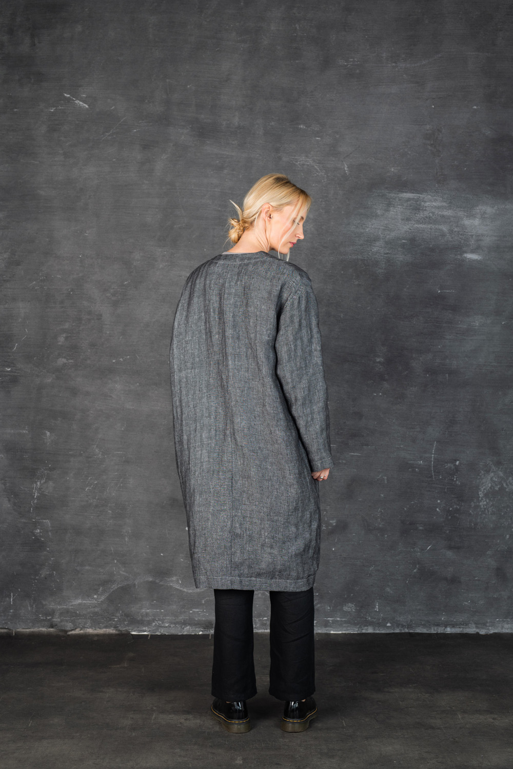 Back: 197/Herringbone BK Chambray