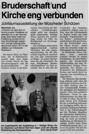 Westfalenpost 01.-02.05.2000