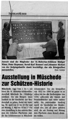 Sauerlandkurier 30.04.2000