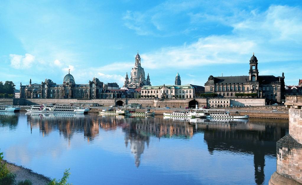 Dresden, Blick auf die Frauenkirche