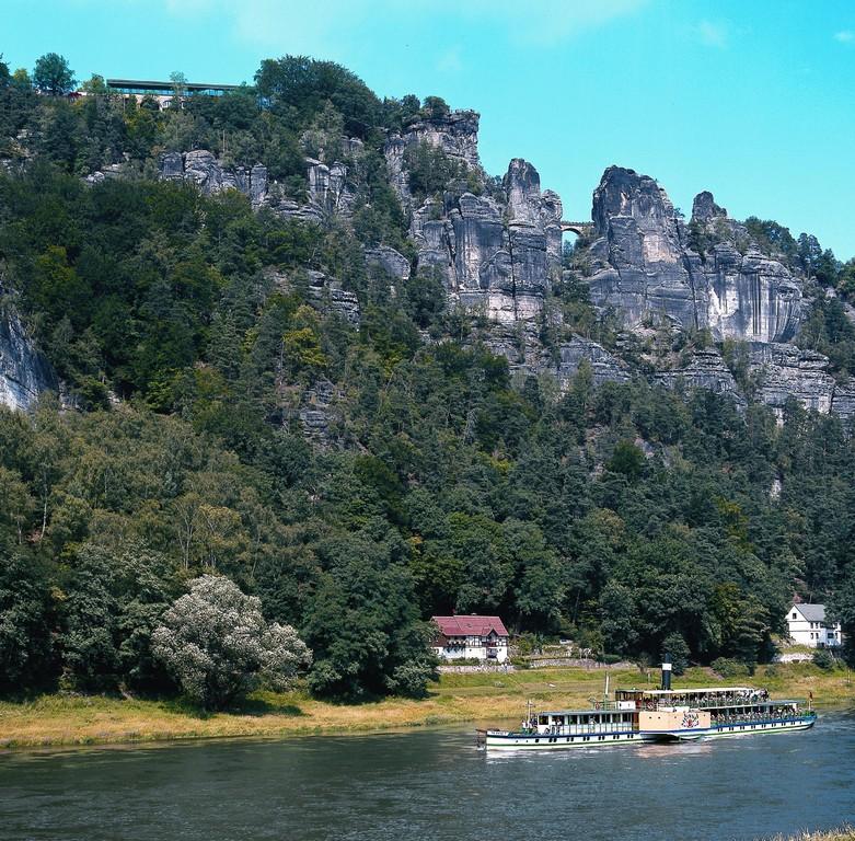 Basteibrücke & Elbdampfer