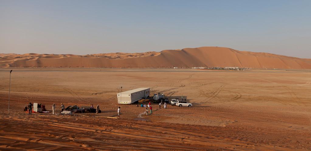 das Wüstencamp