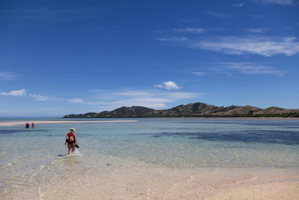 Wanderung zum Inselgipfel