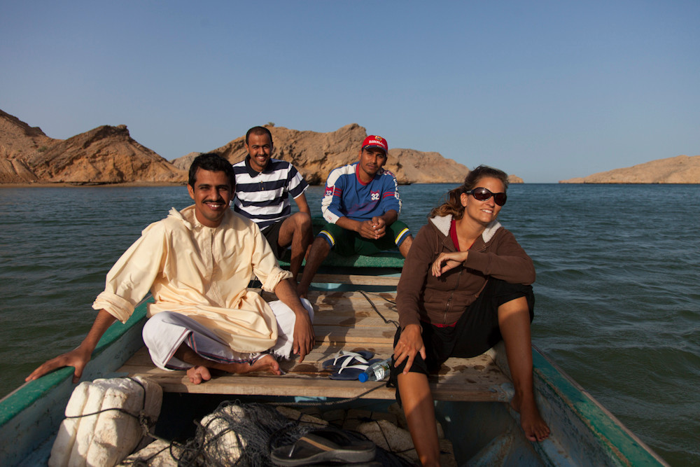 Bootsausflug mit Mohammed, Quazim & Nasser