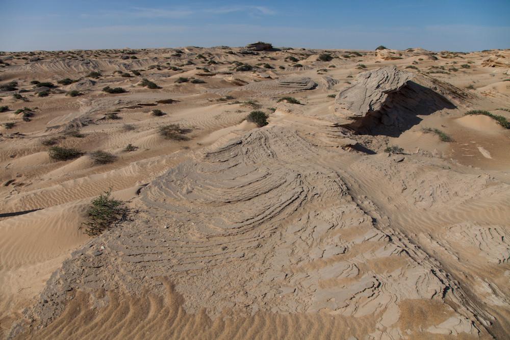 Sandversteinerungen
